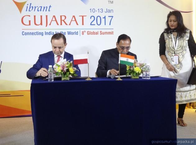 Porozumienie między województwem podkarpackim a stanem Gudżarat