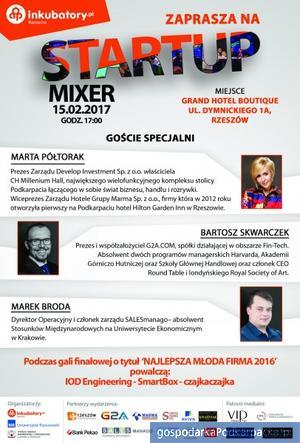 Gala finałowa Startup Mixer 2016