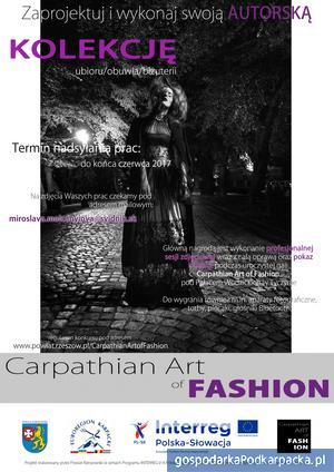 """""""Carpathian Art of Fashion"""" - konkurs dla młodych projektantów"""