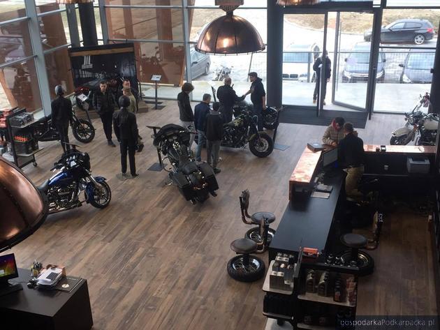 Duże zainteresowanie salonem Harley-Davidson Rzeszów