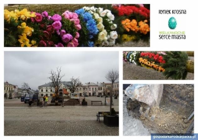 Rynek Krosna - Wielkanocne Serce Miasta