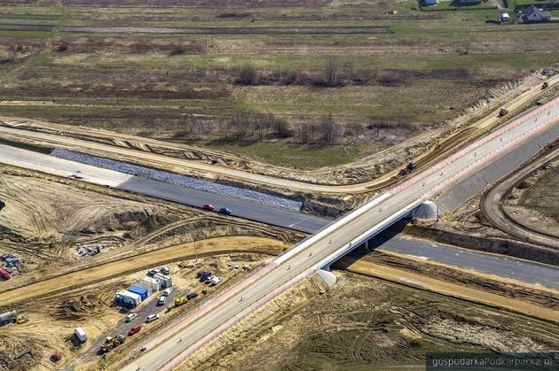Trwa budowa drogi ekspresowej S19 Sokołów Młp. - Stobierna