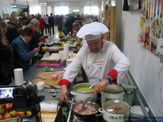 Pokaz kulinarny szefa kuchni Krzysztofa Barana