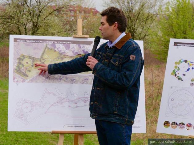 Prezydent Lucjusz Nadbereżny prezentuje plany rewitalizacji