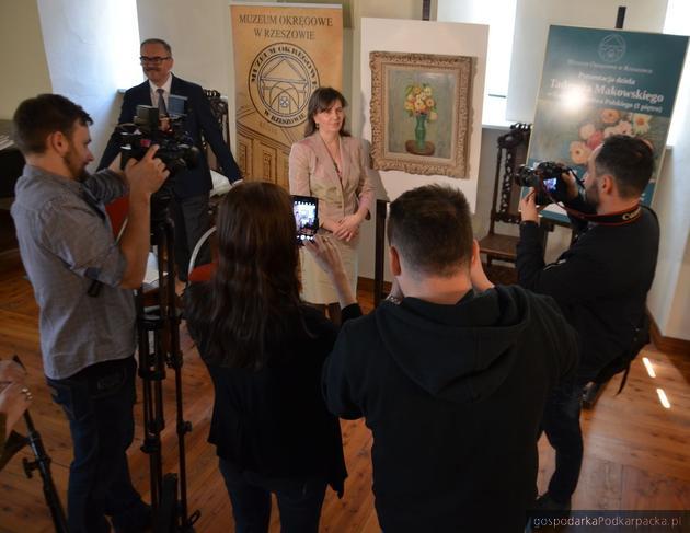 Muzeum Okręgowe w Rzeszowie kupiło obraz Tadeusza Makowskiego