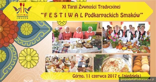 """""""Festiwal Podkarpackich Smaków"""" w Górnie 2017"""