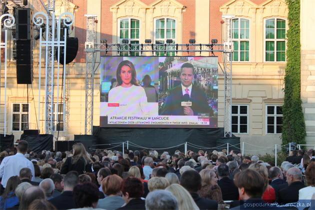 Relacje z 56. Muzycznego Festiwalu w Łańcucie w TVP3 Rzeszów