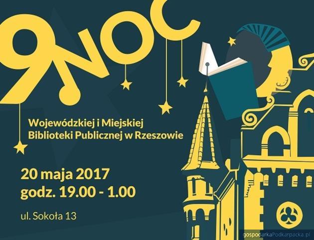 Noc Bibliotek 2017 w Rzeszowie