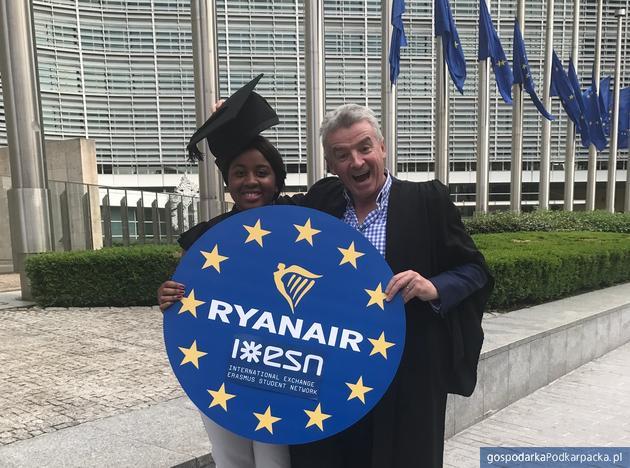 Ryanair partnerem Erasmusa
