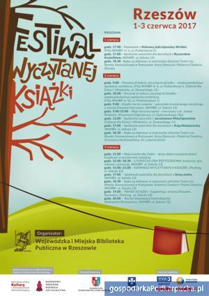 """""""Festiwal Wyczytanej Książki"""" od 1 do 3 czerwca 2017"""