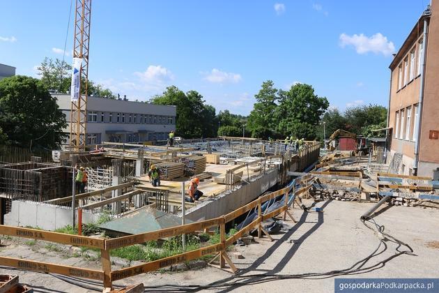 Trwają prace budowlane w jarosławskim szpitalu