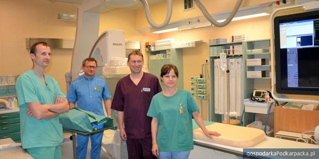 Nowoczesny angiograf w szpitalu w Stalowej Woli