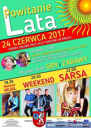 """""""Powitanie Lata"""" w Mielcu - 24 czerwca 2017"""