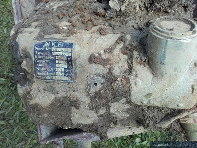 Wrak niemieckiego samolotu Messerschmitt znaleziony w Świerzowej Polskiej