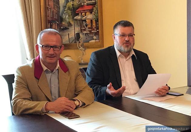 Od lewej Tomasz Kloc i Dariusz Pomprowicz