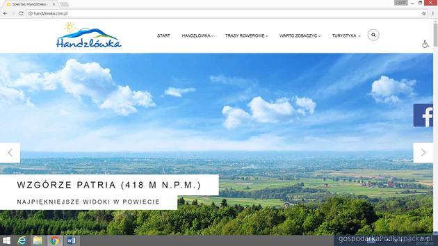 Handzlówka ma stronę promującą wieś