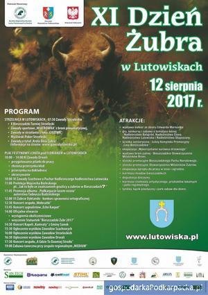 Dzień Żubra 2017 w Lutowiskach