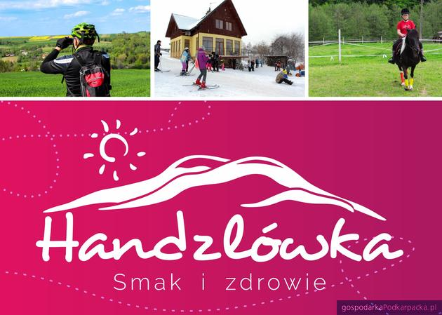 Folder promujący walory turystyczne Handzlówki