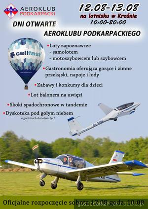 Dni Otwarte Aeroklubu Podkarpackiego 2017