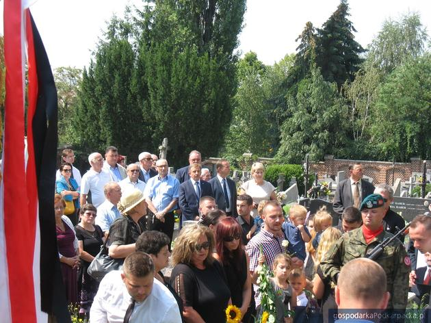 Pogrzeb Józefa Konkela