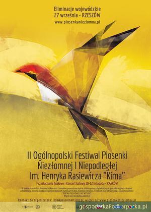 Zgłoszenia do II Ogólnopolskiego Festiwalu Piosenki Niezłomnej i Niepodległej