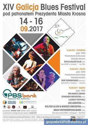 Zbliża się XIV Galicja Blues Festiwal 2017