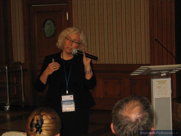 Prof. Anna Barwińska-Małajowicz z Uniwersytetu Rzeszowskiego. Fot. Adam Cyło