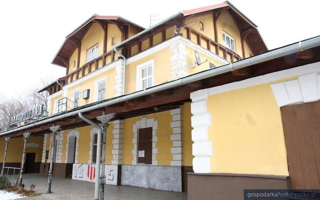 Dworzec w Boguchwale. Fot. Virtus