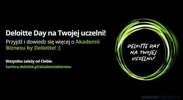 Deloitte Day w WSPiA: praca, praktyki, staże