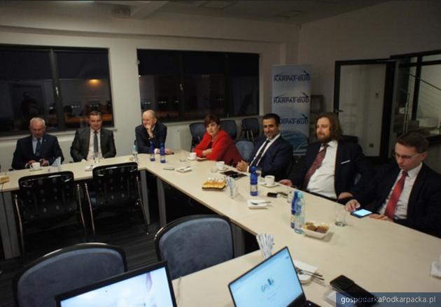 Spotkanie w firmach Best Construction i Karpat Bud. Fot. materiały prasowe