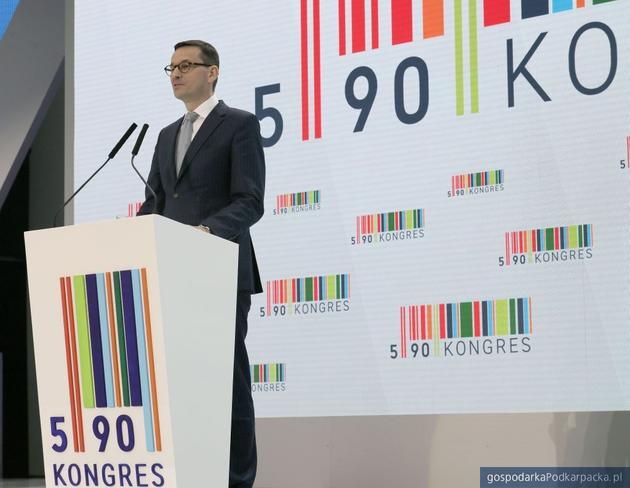 Wicepremier Morawiecki o gospodarce na Kongresie 590