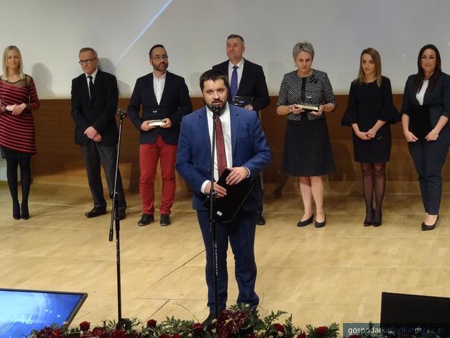 Daniel Dereniowski odebrał nagrodę w imieniu Idea Global. Fot Adam Cyło