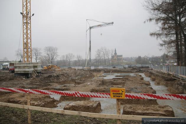 Trwa rozbudowa szpitala w Łańcucie