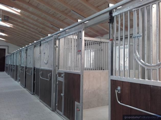 Nowa stajnia dla koni w technikum w Trzcianie