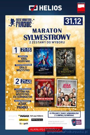 Sylwester 2017 w rzeszowskich kinach