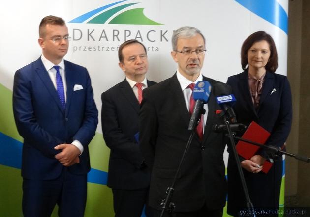 Minister Kwieciński na Podkarpaciu