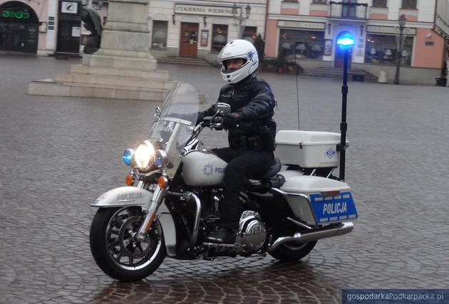 Harley-Davidson  dla rzeszowskiej policji