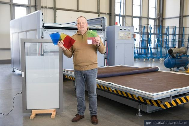 Jacek Siudyła z Digi Glass Factory Sp.  z o.o.