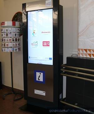 Tak będą wyglądac infokioski, fot. www.mrot.pl