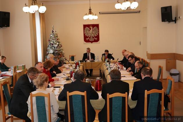 Sesja Rady Powiatu Jarosławskiego