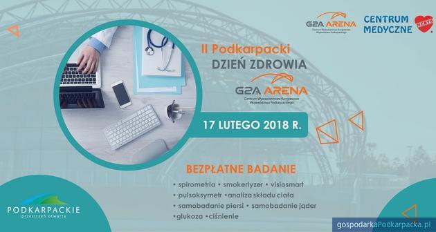 II Podkarpacki Dzień Zdrowia w G2A Arena – bezpłatne badania