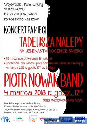 11 rocznica śmierci Tadeusza Nalepy - koncert