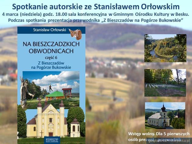 Spotkanie autorskie ze Stanisławem Orłowskim.