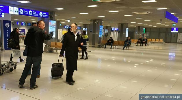 Pierwszy pasażer z Tel Awiwu