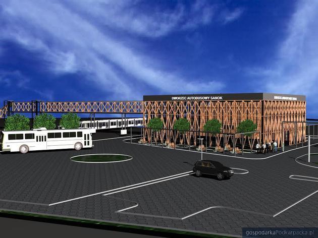 Budowa nowego dworca multimodalnego w Sanoku
