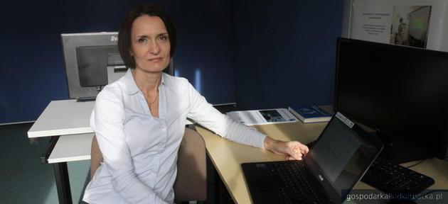 Dr inż. Joanna Marnik. Fot. A. Rembisz