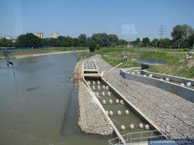 Przepławka ma długość 270 metrów, fot. Adam Cyło