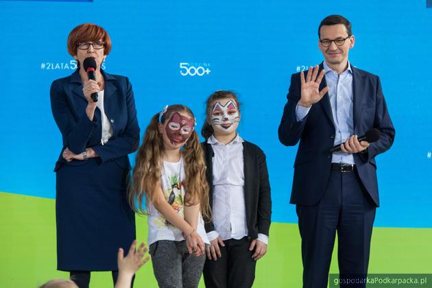 Premier Morawiecki na Podkarpaciu podsumował program 500+
