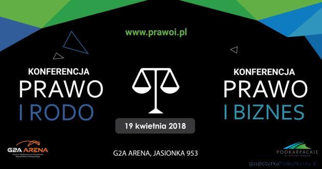 """Konferencje """"Prawo i Biznes"""" oraz """"Prawo i RODO"""""""