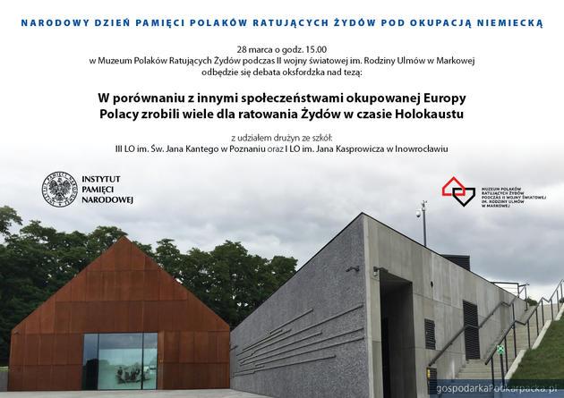 Debata oxfordzka w Muzeum im. Rodziny Ulmów w Markowej